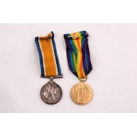 Lunn's British War Medal and Victory Medal