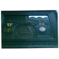 George Kirk's medals and dea