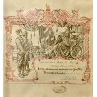 John Bailiff's discharge certificate