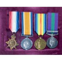 R C Allen's Medals