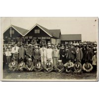 Post War celebrations at Eden Grove Athletic Club in 1919