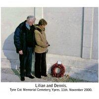 Modern visit to Tyne Cot