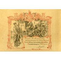 Horace's discharge certificate