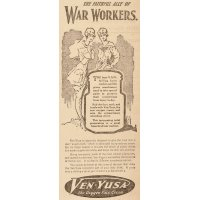 "Ven-Yusa ""Face cream for War Workers"""