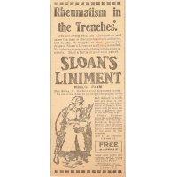 Sloan's rheumatism liniment