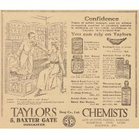 Taylor Chemists advert