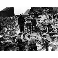 Burngreave, Sheffield, after the zeppelin raid