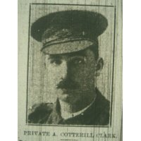 Alfred Cotterill Clarke Pte Aust Imp Force.
